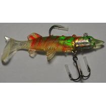 Señuelo Silicon Pesca Barracuda Sierra Alevin Especilizado