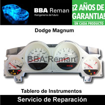 Dodge Magnum 2005 2006 Tablero Instrumentos Reparacion