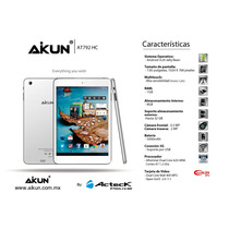 Tablet Android Acteck At792hc Micro Hdmi Doble Nucleo 8gb