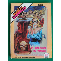 1988 Novelas Inmortales #563 El Mercader De Venecia William