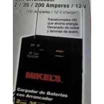 Cargadores De Baterias Con Arrancador 200 Aperes/ 12 V