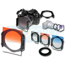 Kit De 10 Filtros Para Fotografia Y Video Intercambiable
