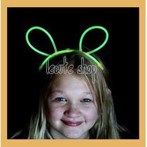 16 Diademas Lumninosa Neon Conejo Raton Mickey Conejito Luz