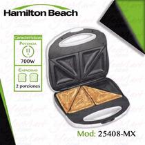 Sandwichera Blanca 2 Rebanadas Proctor Silex Hamiltonbeach