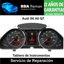 Audi A6 S6 Q7 2005 2010 Tablero Instrumentos Reparacion