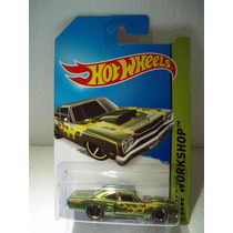 Hot Wheels 69 Dodge Coronet Superbee Verde 212/250 2014