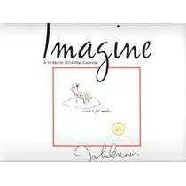Calendario 2014 Imagine John Lennon Nuevo, Envio Gratis!!!