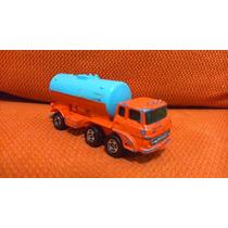 Tomica Camión Cisterna Pipa Fuso Cabover Japón Escala 1/127