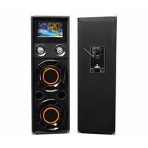 Vecctronica: Kit 2 Bafles 2x10 Efecto Agua Usb Bluetooth Sd!