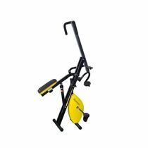 Ejercitador Magic Crunch Evo Pro 2en2 Bici Fija 12 Niveles