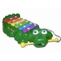 Hermoso Piano-xilofono Cocodrilo