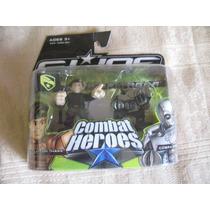 2009 Combat Heroes Gijoe Rise Of Cobra Hawk Cobra Viper
