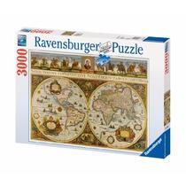 Rompecabezas Ravensburger 3000 Piezas Mapa Antiguo Año 1665