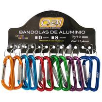 Bandolas 7cm De Colores Con Exhibidor Con 12 Pz Tipo D