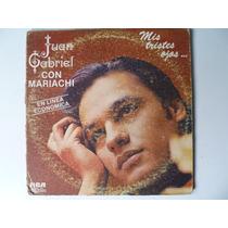 Lp Juan Gabriel Con Mariachi Mis Tristes Ojos Pm0