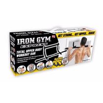Iron Gym® Barra Multifuncional Biceps Gym Ejercita Brazo