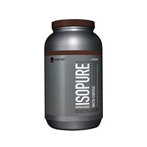 Isopure Con La Proteína En Polvo De Café Espresso 3 Libras