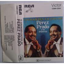 Perez Prado 15 Grandes Exitos Cassette Raro Rca Victor 1983