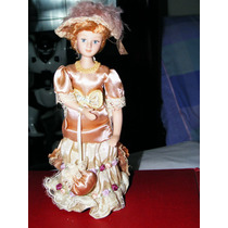 Muñeca De Porcelana Vestidos De Epoca Minis