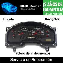 Lincoln Navigator Tablero De Instrumentos Reparacion