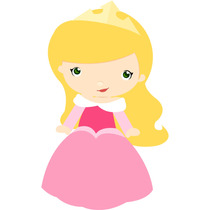 Kit Imprimible Princesa Aurora Bella Durmiente Baby Tarjet 1
