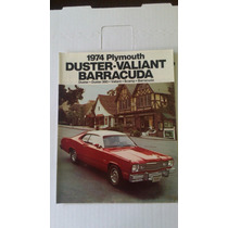 Catalogo Orig De Venta De Dart Duster Valiant Barracuda 1974