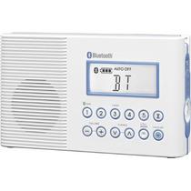 Radio Sangean H202 Fm / Am Bluetooth Baño Ducha Vv4