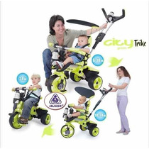 Triciclo Carreola Montable City Trike (meses Sin Intereses)