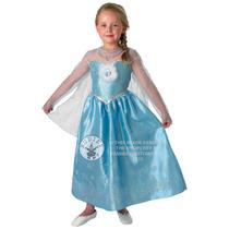 Disney Congelado Traje - Edad Media 5-6 Años Elsa Clásico