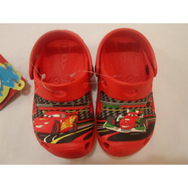 Sandalias Huaraches Croc Cars Hombre Araña Iron Man Avengers