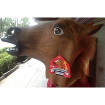 Máscara De Caballo Horse Head 100% Original Archie Mcphee
