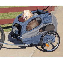 Remolque L Mascotas Para Bicicleta