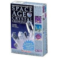 Space Age Crystal Kit De Cultivo: 4 Cristales (cuarzo Esmera