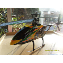 Helicóptero Wl Toys V 912 4 Ch. Funcion Aerografia