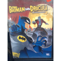Dvd Batman Vs Dracula La Película Dc Comics