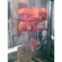 Polipasto Electrico De Cadena Marca Endor Sthal