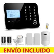 Msi Alarma Inteligente Dual Telefóno Gsm Touch Casa Negocio