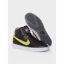 Nike Tenis Sweet Classic H Excelente Modelo, Negro Con Verde