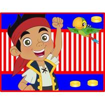 Kit Imprimible Jake Y Los Piratas Del País De Nunca Jamás 16