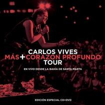 Mas + Corazon Profundo Tour / Carlos Vives / Cd + Dvd
