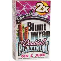 Blunt Wrap Papel Arroz 2x Platinum