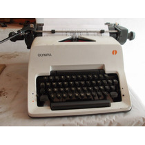 Maquina De Escribir Olympia Sg-3 Estandar