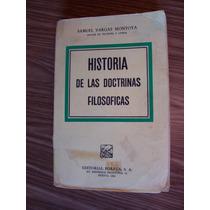 Historia Las Doctrinas Filosóficas-samuel Vargas-porrúa-op4