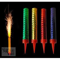 3 Vela Mágica Pastel Lluvia Fria Chispas Fiestas Cumpleaños