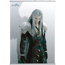 Manta Wall Scroll Original Sephiroth Final Fantasy Vii Nuevo