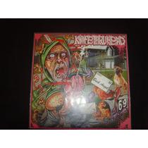 Knifethruhead/casket Blaster - Vinil 7 . Grind, Gore, Death