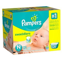 Pampers Swaddlers Pañales Tamaño N Paquete Gigante 128 Conde