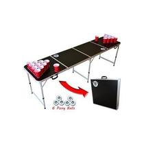 Mesa Beer Pong , Juego Cerveza , Ping Pong, Fiesta