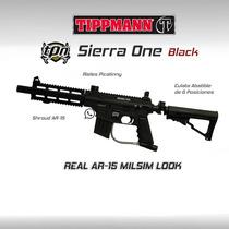 Tippmann Sierra One Marcadora Gotcha Paintball Rifle Pistola