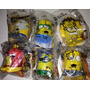 Simpsons Set 6 Figuras Super Heroes Burger King 2013 Pm0